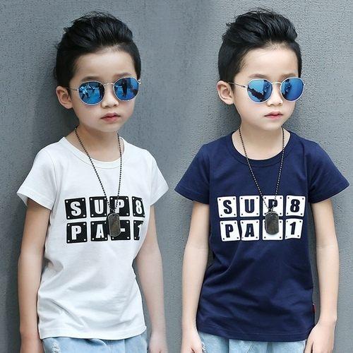 中大童短袖上衣嬰幼兒短袖T恤寶寶童裝JP6050好娃娃