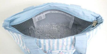大賀屋 日貨 大耳狗 午餐包 保溫袋 保冷袋 便當袋 環保袋 Cinnamoroll 三麗鷗 正版 J00016199