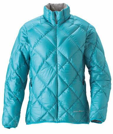 【露營趣】中和 Mont-Bell 1101360 LT Alpine 女款羽絨外套  水藍色 800Fill 高規格羽絨 保暖超輕量