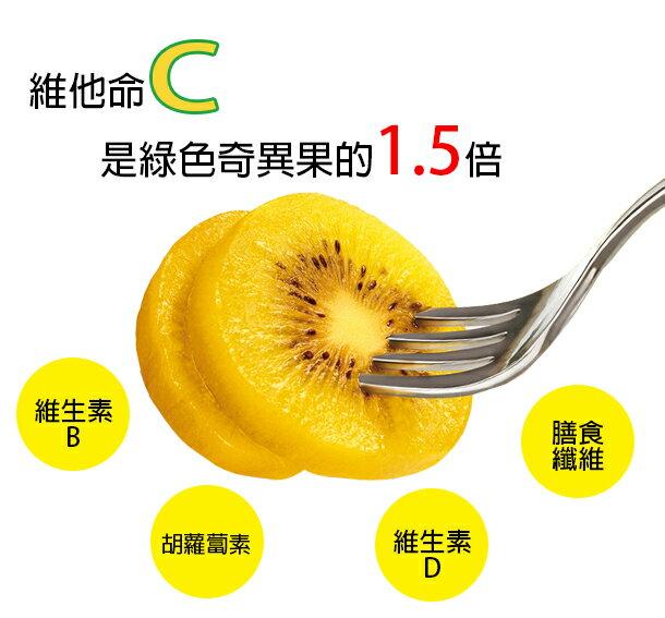 【小資水果】紐西蘭系金ㄟ黃金奇異果五粒裝 2