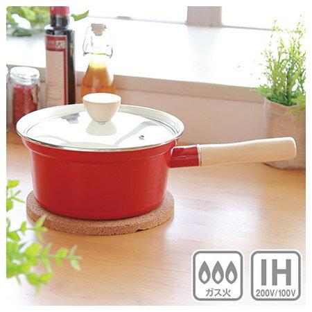 IH 琺瑯長把鍋 lemane 18cm RE 電磁爐瓦斯爐均適用