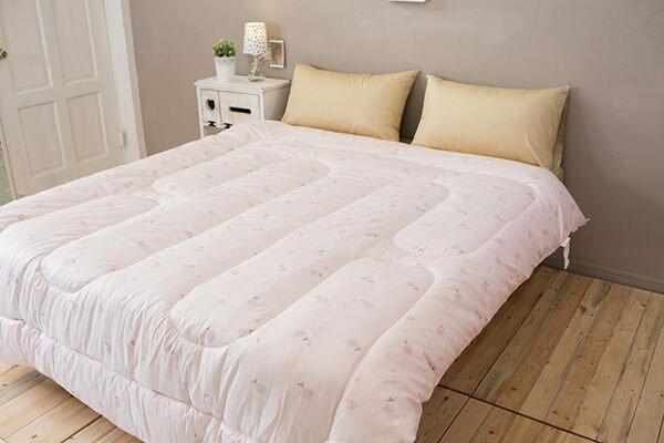 小粉紅羊毛被/超保暖100%英國小羊毛被(6尺*7尺, 雙人) - 限時優惠好康折扣