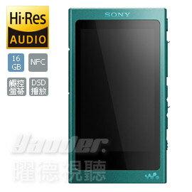 <br/><br/>  【曜德★加贈原廠保護套】SONY NW-A35 藍 觸控螢幕 數位隨身聽 16GB 繽紛五色 ★ 免運 ★<br/><br/>
