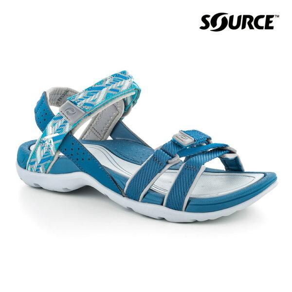 Source女Atacama越野運動涼鞋10205208城市綠洲(織帶、輕量、快乾、抑菌)