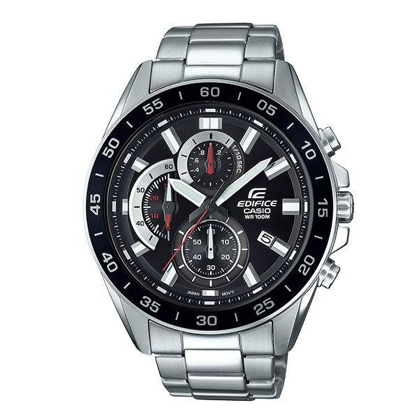 CASIO卡西歐EDIFICEEFV-550D-1A三環計時碼錶動感腕錶