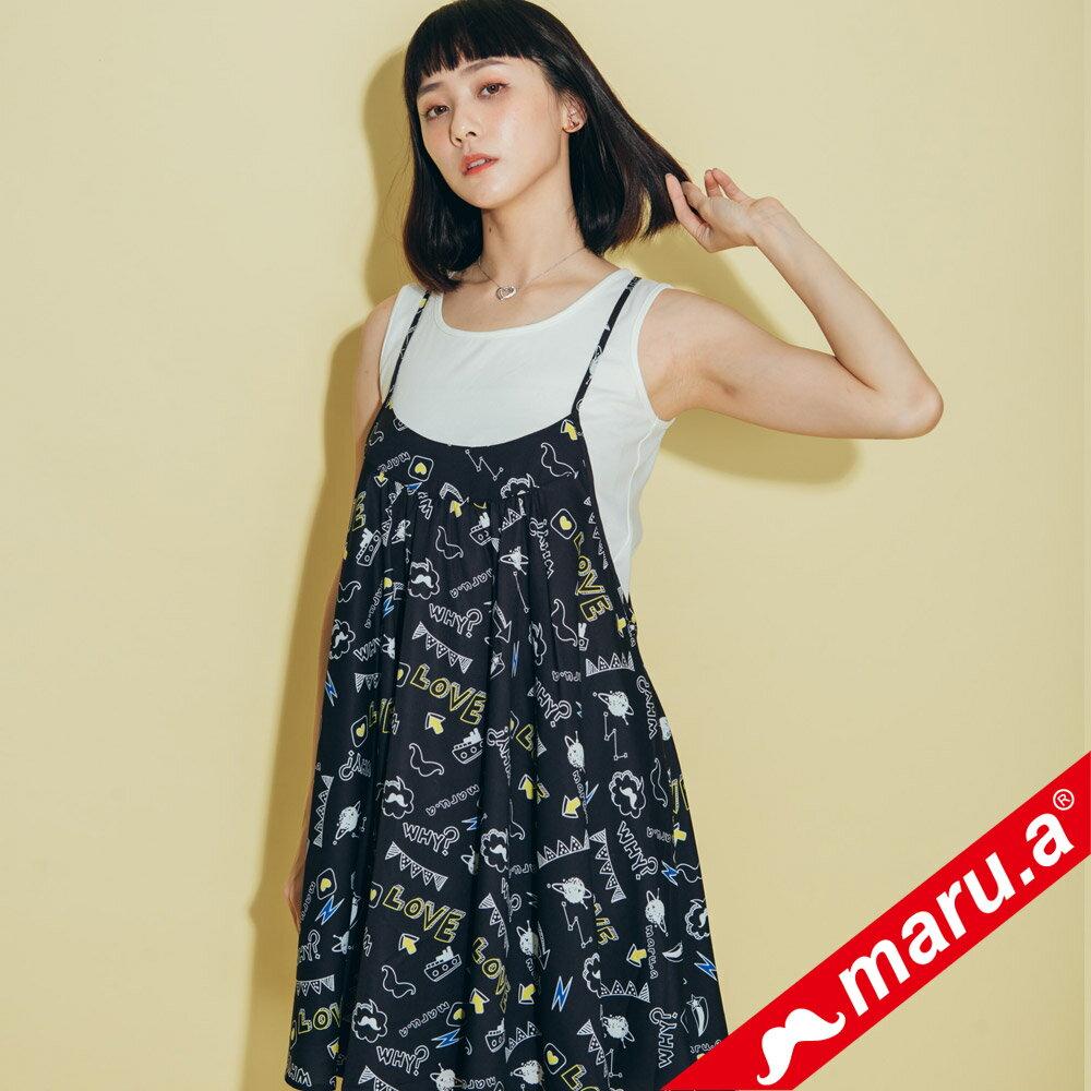 【maru.a】滿版印花洋裝 8317118 0