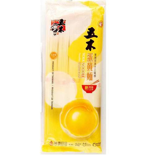 五木蛋黃麵375g【愛買】