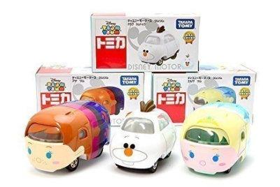 【真愛日本】15121700002日本7-11限定TOMY小車-TSUM艾爾莎 迪士尼冰雪奇緣Frozen 擺飾 收藏