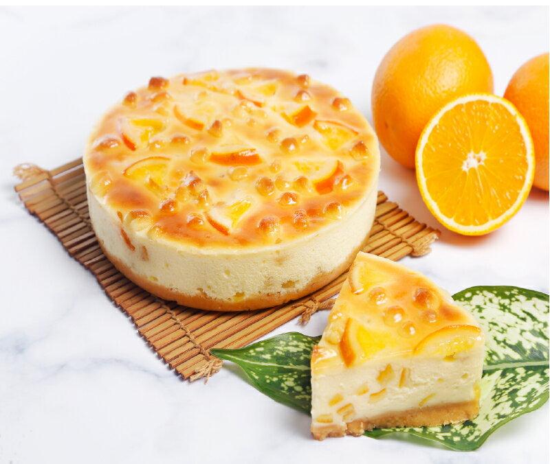 【喜之坊】橙癮★6吋約350g★美式香橙重乳酪!!