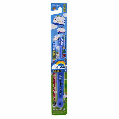 新幹線 0.5~3歲兒童牙刷B-S14(顏色隨機出貨)★衛立兒生活館★