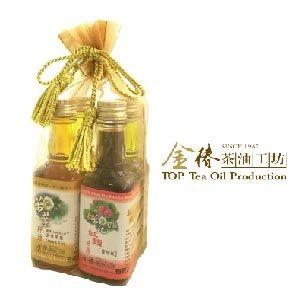 金椿茶油工坊 茶花籽油樂活組 年節限定 再贈綜合蔬果飲兩瓶
