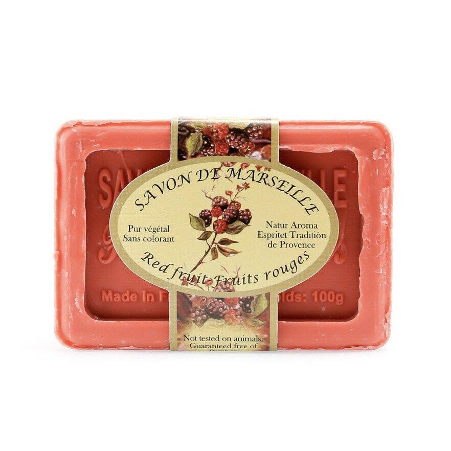 【返璞歸真】Natur Aroma馬賽皂 - 野莓100g  法國天然香氛手工皂
