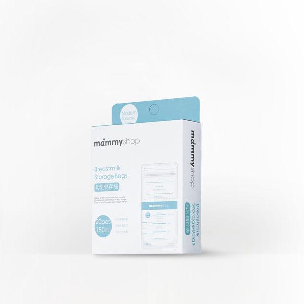 mammyshop媽咪小站:mammyshop媽咪小站-母乳儲存袋.150ml.20入