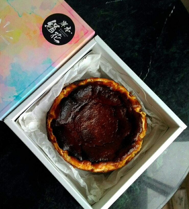 聖誕炙燒起士蛋糕 6吋 15.5公分 basque burnt cheesecake 巴斯克乳酪蛋糕
