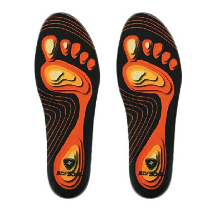 美國SOFSOLE-Fit-High Arch記憶鞋墊(高足弓)-S1337 0