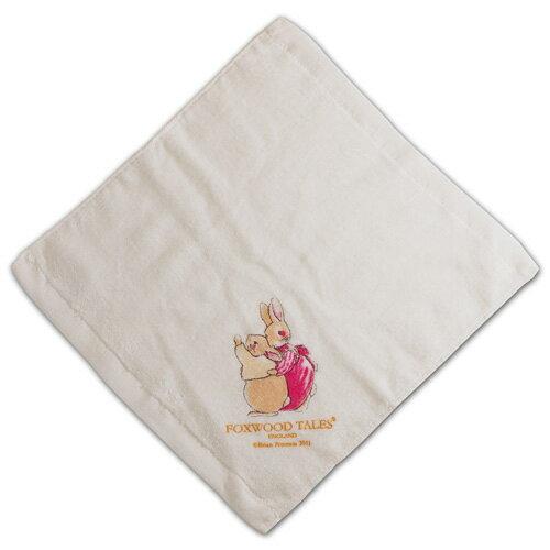 『121婦嬰用品館』狐狸村 嬰兒細絨小方巾 2