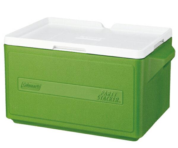 【鄉野情戶外專業】 Coleman |美國| 31L 置物型冰桶 /冰桶 保鮮桶 保冰箱-綠/CM-1331JM000