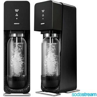 【買就送糖漿2罐】Sodastream 氣泡水機 Source plastic 氣泡水機 汽泡水機 黑