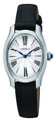SEIKO 精工 羅馬情人夢時尚女錶 晶鑽銀 1N01-0SE0L (SXGP61P1) 24mm