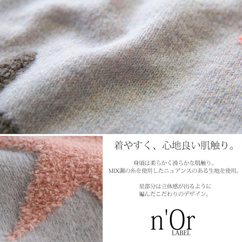 日本osharewalker  /  可愛星星印花針織毛衣  /  tcn1042  /  日本必買 日本樂天直送(4290) 7