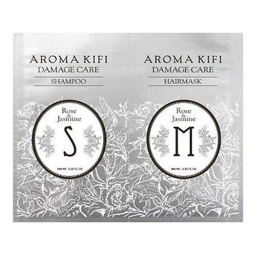 《日本製》AROMA KIFI 植粹修護洗護體驗組N (洗髮10ml+護髮10ml) - 限時優惠好康折扣