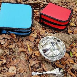 美麗大街【107011816】單人便攜環保餐具組碗筷湯匙