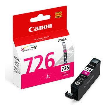 【CANON 墨水匣】CLI-726M 紅色原廠墨水匣