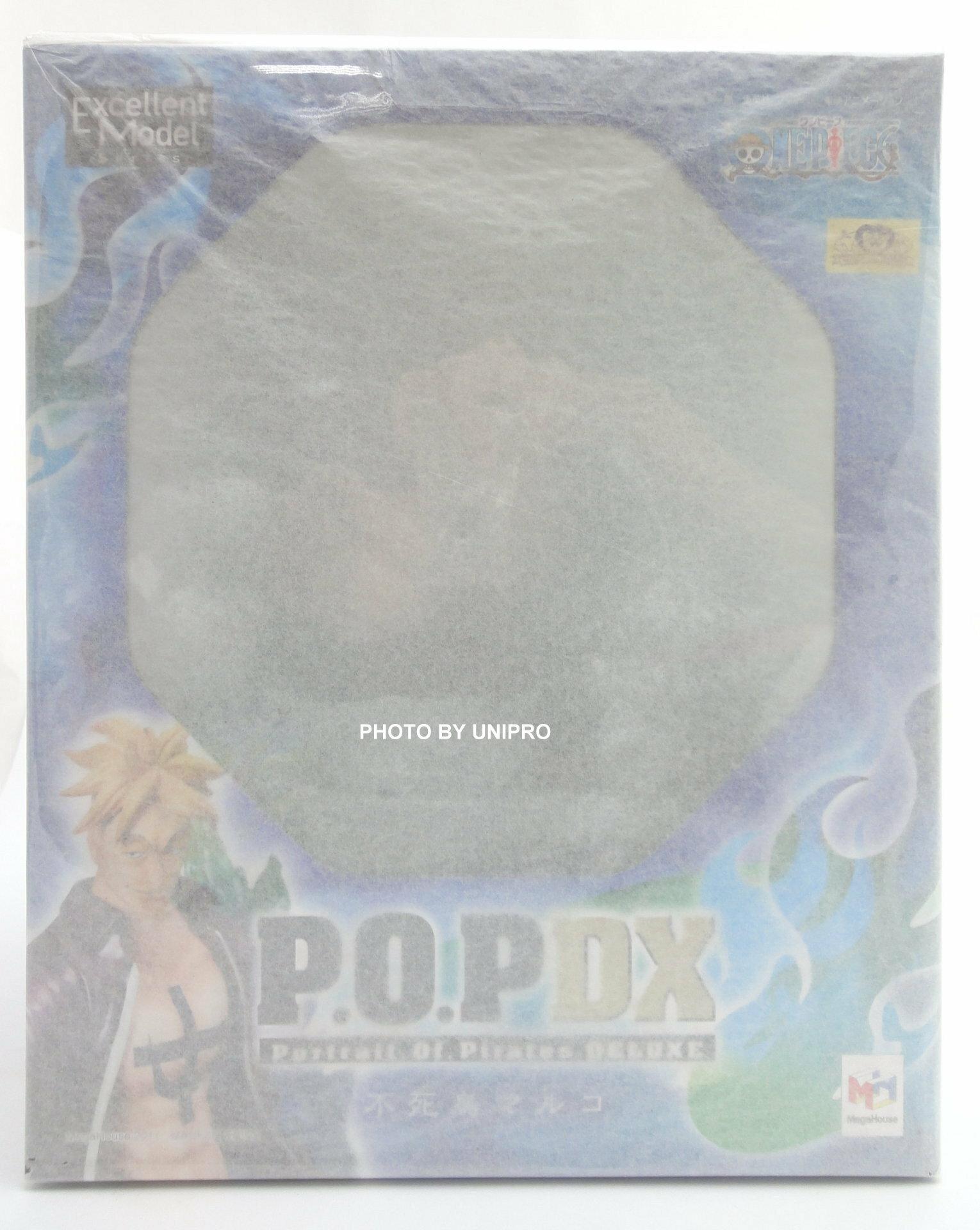 日版金證 現貨 宣紙未拆 POP DX 不死鳥 馬可 1.0 白鬍子 海賊團 海賊王 P.O.P