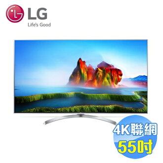 LG 55吋奈米顯示SUHD4K智慧聯網LED液晶電視 55SJ800T 【送標準安裝】