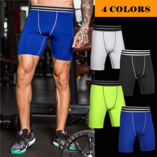 50^%OFF SHOP~AD021875P~健身褲男籃球跑步訓練褲彈力壓縮速乾褲 緊身褲