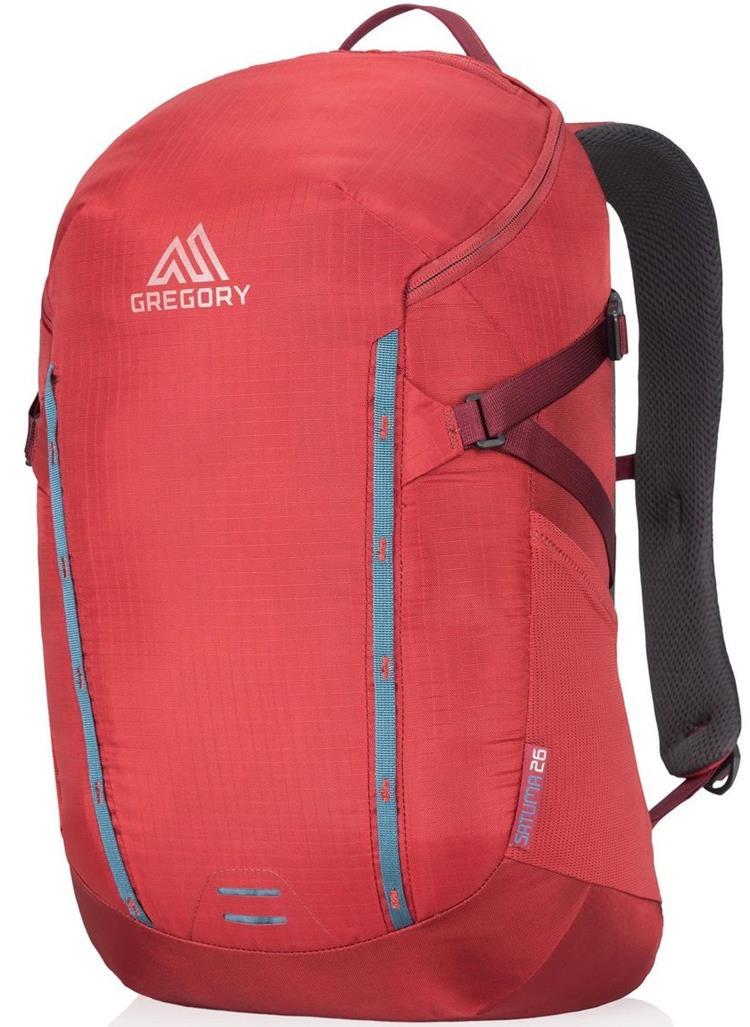 Gregory SATUMA 26 健行旅行背包/筆電包/運動背包/多功能夾層背包 74480 1235紅