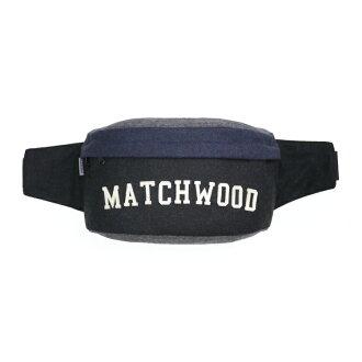 REMATCH - Matchwood Handy 腰包 側背包 斜背包 隨身包 胸前包 黑藍毛料款 內層防水/ 單車運動 / 休閒 / 旅遊隨身 / 美式休閒 / 運動 / Outdoor / Ja..
