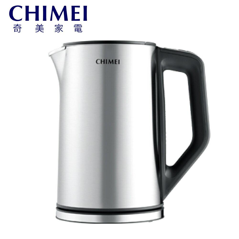 [CHIMEI 奇美] 1.5公升5段式智能溫控不鏽鋼快煮壺 KT-15MDT0