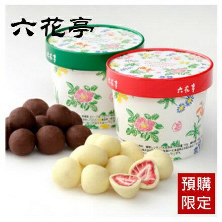 預購【六花亭】北海道草莓巧克力(牛奶巧克力 / 白巧克力) 100g 本次出貨時間4 / 8左右 - 限時優惠好康折扣