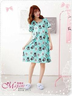 [瑪嘉妮Majani]中大尺碼睡衣-棉質居家服 睡衣 舒適好穿 寬鬆 有特大碼 特價299元 sp-285