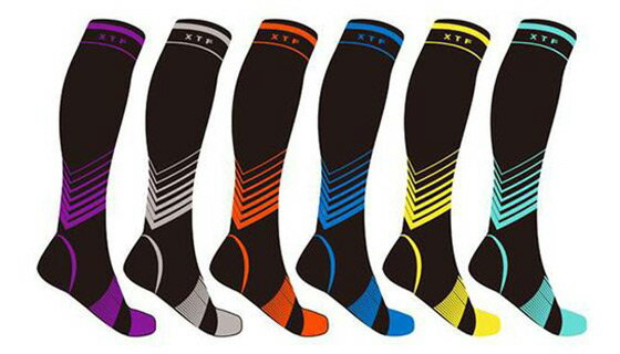 Verge Knee-High Sport Compression Socks by Extreme Fit™ 1
