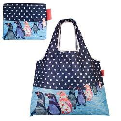 DESIGNERS JAPAN 日本PRAIRIEDOG摺疊購物袋(Penguin) ★2way shopping bag