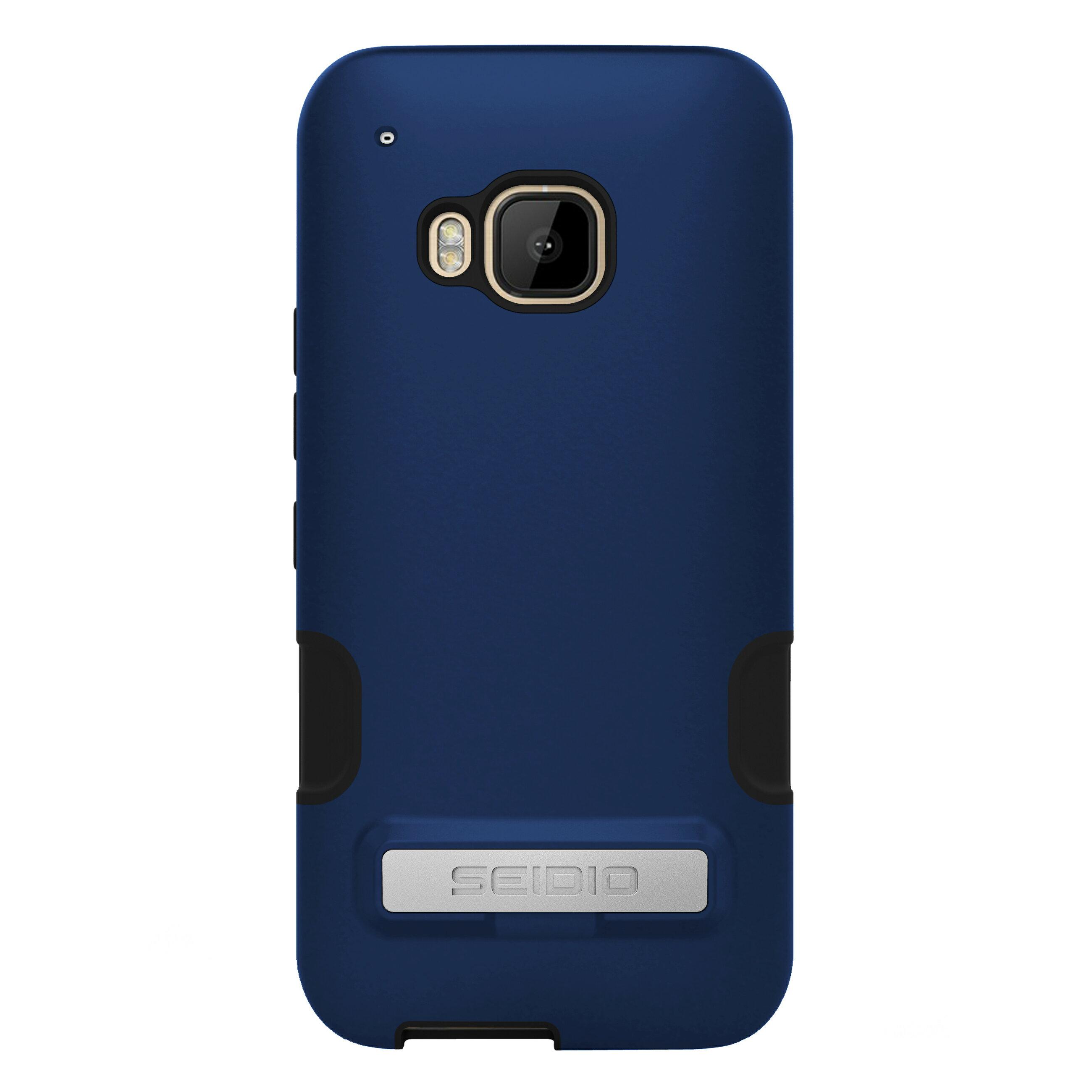 SEIDIO DILEX? PRO 金屬支架保護殼 for HTC One M9 - 科技藍