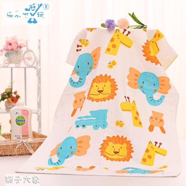寶寶浴巾 蜂巢紗布浴巾 嬰兒浴巾 RA1321 好娃娃