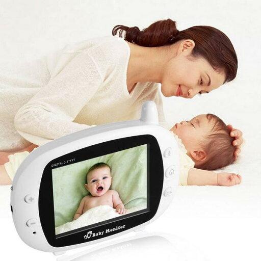 Wifi Digital Baby Infant Monitor Camera 3.5inch LCD screen cb191904307ed42bd9a48d476461d665