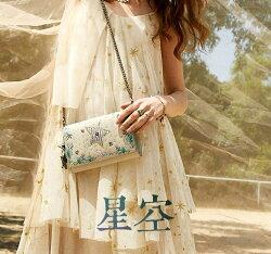 斜背包 蓮燦包包女鏈條小方包時尚民族風牛皮刺繡原創單肩斜背包 JD【小天使】