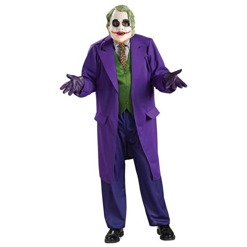 Rubies Costume Co 32972 Batman Dark Knight The Joker Deluxe Adult Costume Size X-Large 0