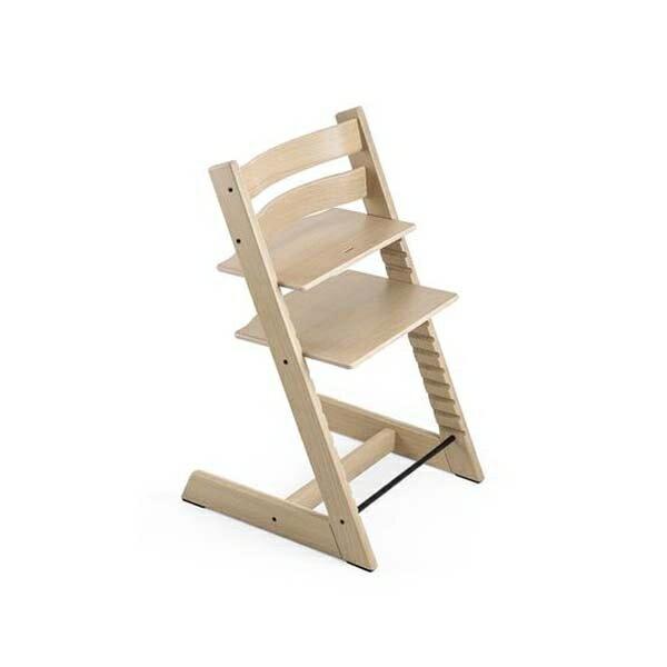 STOKKETrippTrapp®成長椅(甄選橡木白)餐椅