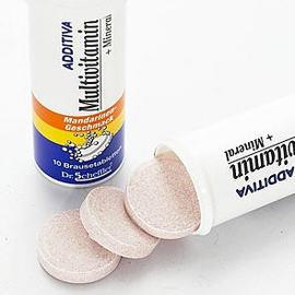 德國 C-TOP 綜合維生素發泡錠 橘子口味 10粒/瓶◆德瑞健康家◆