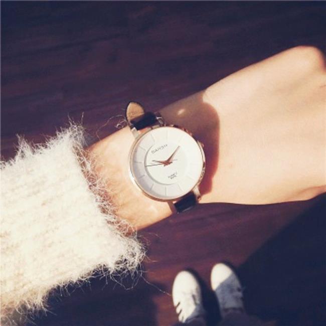 50%OFF SHOP~H019051WAH~歡樂頌同款手錶女學生 簡約休閒大氣細錶帶小錶