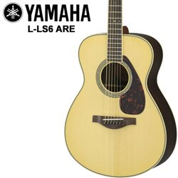 【非凡樂器】YAMAHA LS6-ARE 漸層色款/高品質單板木吉他/哥倫比亞雲杉木面板【小琴身】