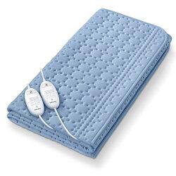 【德國博依beurer】床墊型定時水洗電毯 (雙人雙控定時電毯)-TP88XXL-藍色海洋