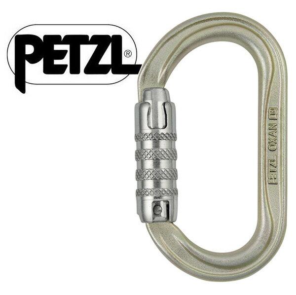 【Petzl 法國】OXAN TRIACT-LOCK 自動上鎖勾環/攀登鉤環/M72A-TL