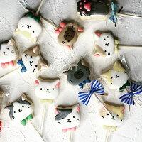分享幸福的婚禮小物推薦喜糖_餅乾_伴手禮_糕點推薦貓頭糖霜餅乾/盒裝 7隻入