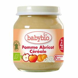 『121婦嬰用品館』法國Babybio有機鮮果米泥 130g 4m+